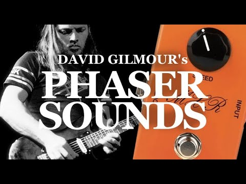 David Gilmour's phaser tones with MXR Phase 90