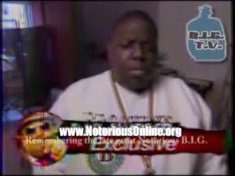 Biggie / Notorious BIG interview 1 month before his assassination