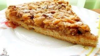 Готовим торт дома.Венгерский ореховый пирог с яблоками
