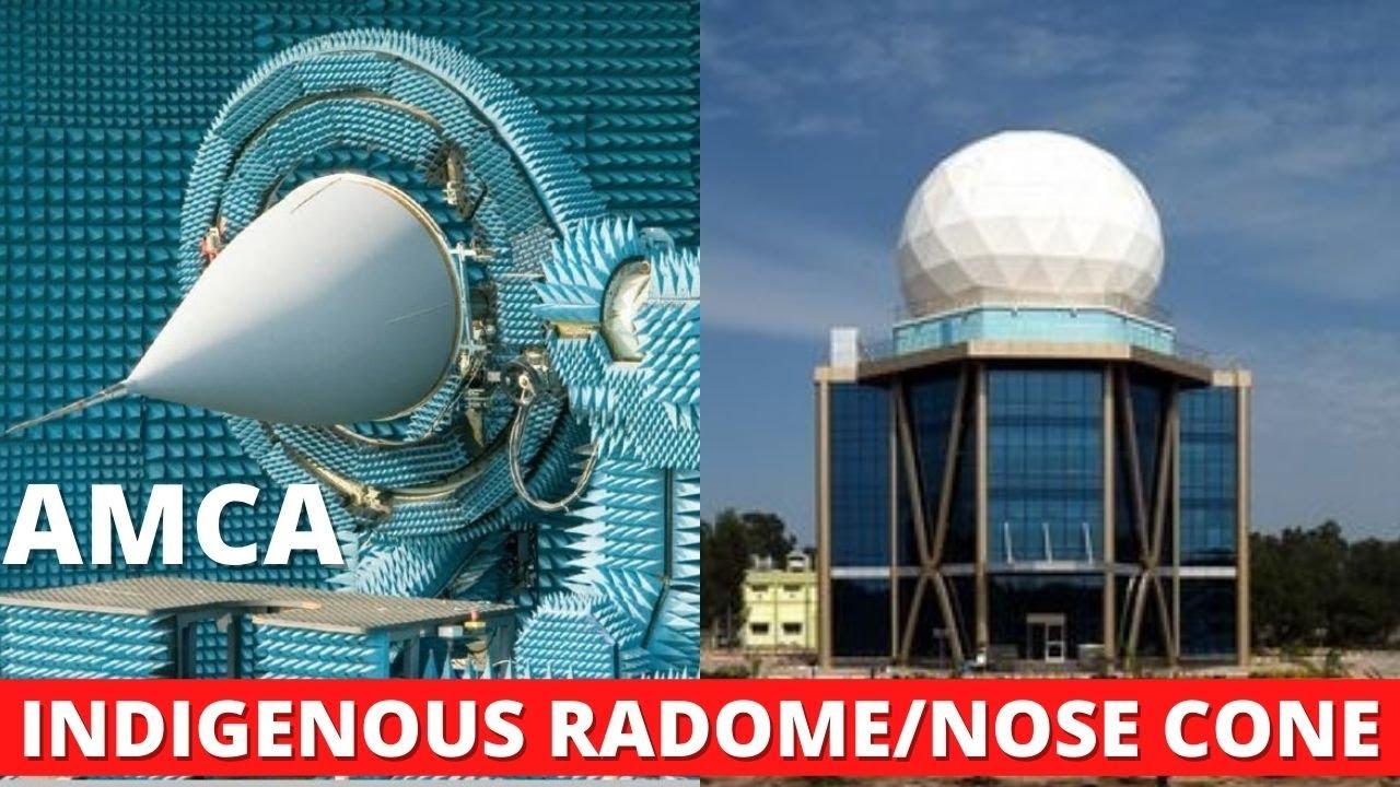 Desi Radome/Nose cone development for AMCA, ASTRA, TEJAS, MOTR