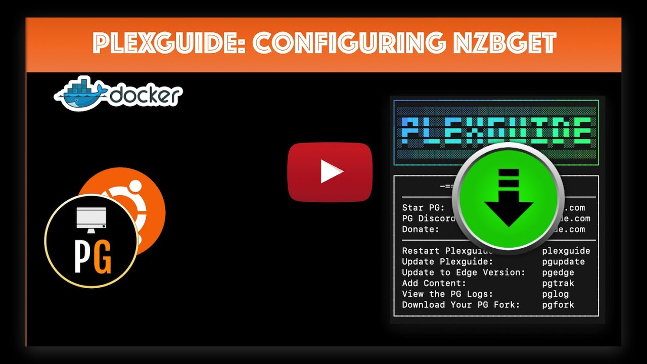 Configure NZBGET with PlexGuide