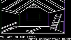 Apple II Game: Mystery House (1980 On-Line Systems)
