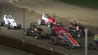Michigan Traditional Sprints Feature Race at Crystal Motor Speedway, Michigan on 09-15-2018!