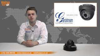 Grandstream GXV3610_HD IP Camera Video Review / Unboxing