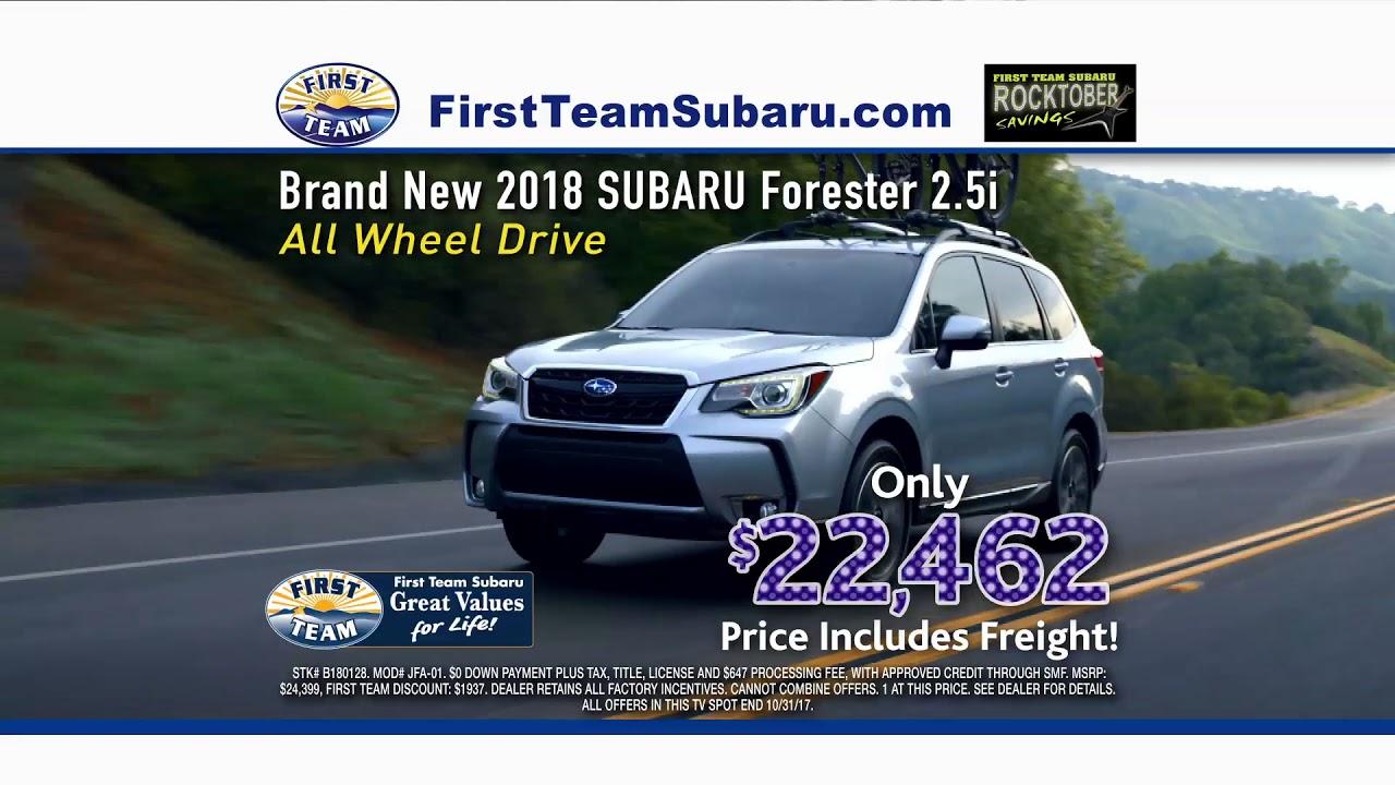 First Team Subaru >> First Team Subaru Rocktober Event Youtube