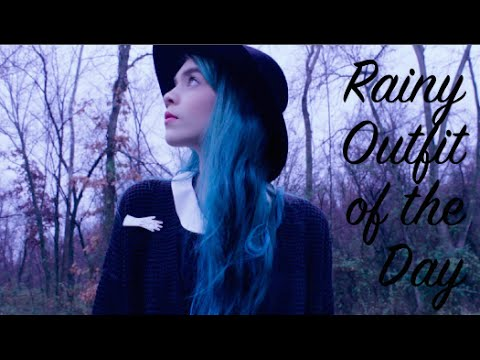 Rainy Outfit of the Day | Forest adventures
