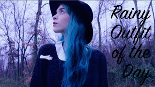 Rainy Outfit of the Day | Forest adventures Thumbnail