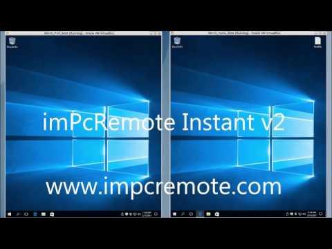 imPcRemote Instant v2 - free remote control software