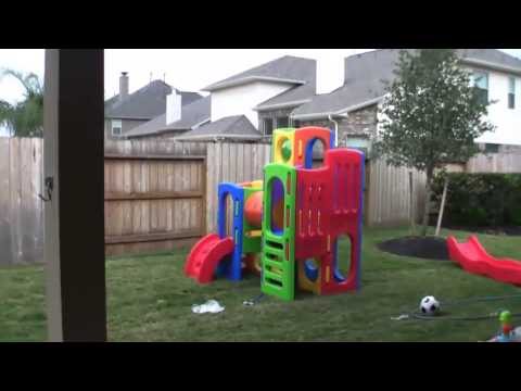 assembling little tikes playground youtube. Black Bedroom Furniture Sets. Home Design Ideas