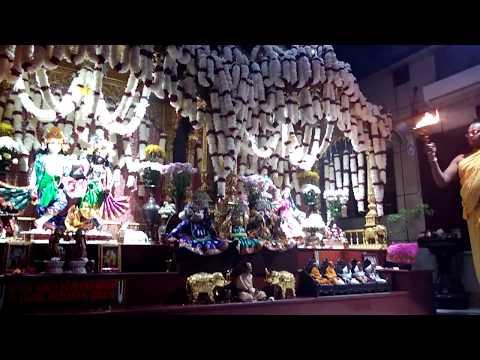 ISKCON Punjabi Bagh Mangal arati full   Rama Ekadasi 2017   Kartik Damodar Maas   15/10/17