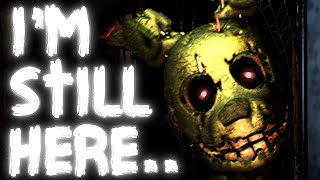 The Spring-Trap In FNAF 1 || Five Nights At Freddy