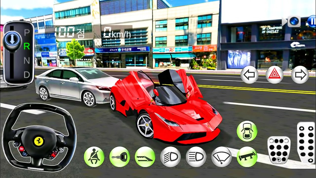 Ferrari Sport Car Driving Driver S License Examination Simulation Android Gameplay Youtube