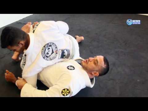 Jiu-Jitsu Posição Rapagem da Meia Guarda Prof.Gabriel Costa
