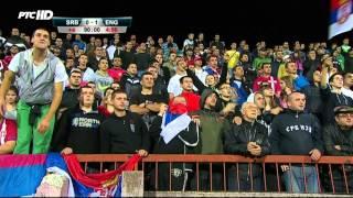 Serbia U21 - England U21 0:1 - Goal and Fight HD