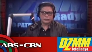 DZMM TeleRadyo: Davao under lockdown amid martial law declaration: Sara Duterte