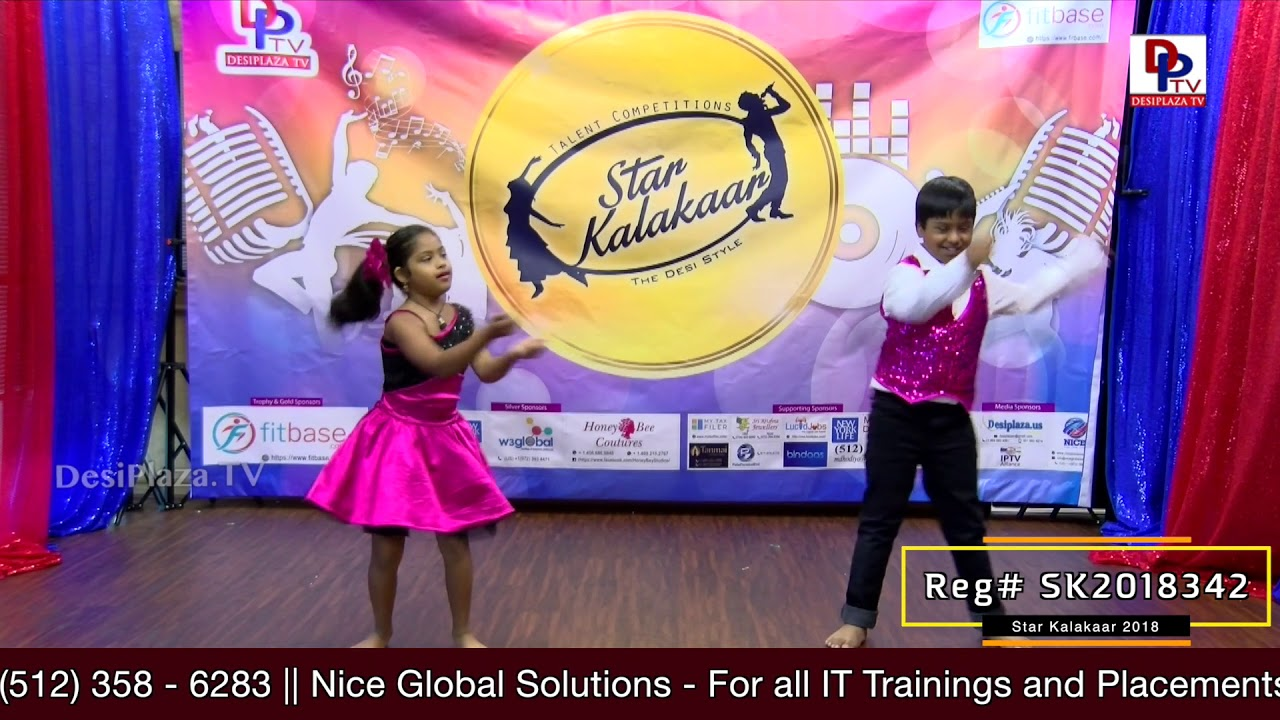 Participant Reg# SK2018-342 Performance- US Star Kalakaar 2018 || DesiplazaTV
