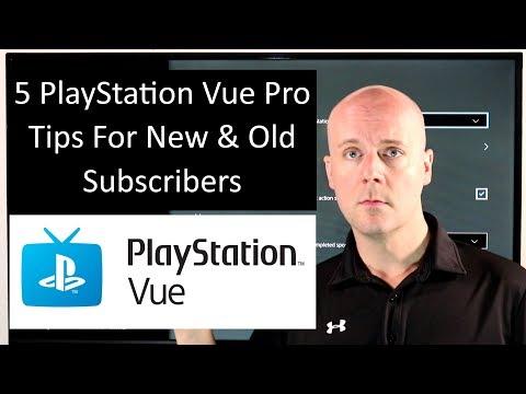 5 PlayStation Vue