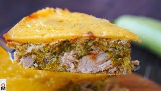 Закусочный Пирог из Кабачков и Курицы | Все Семья Будет Накормлена