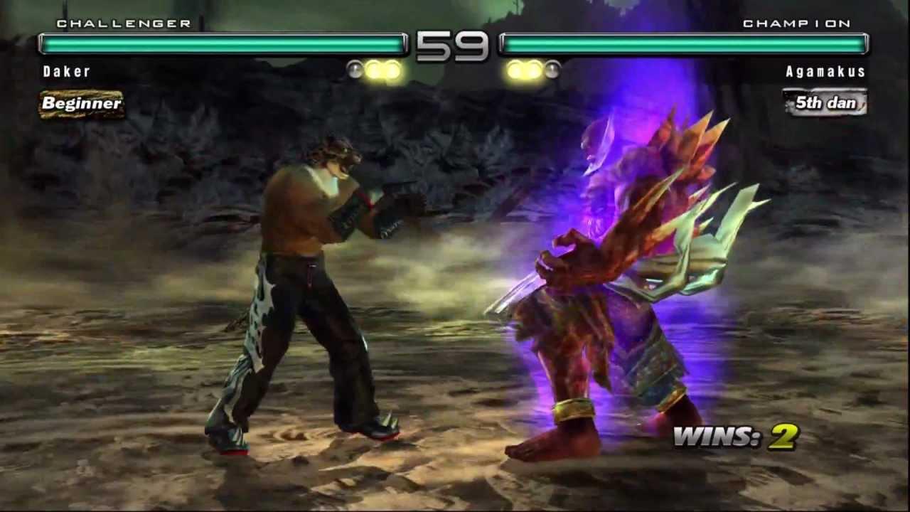 Tekken 5 Dr Armor King Vs Jinpachi Youtube