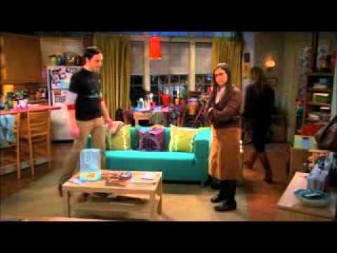 TBBT Season 5 Episode 12 - Sheldon Apologizes To Amy
