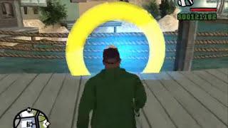 GTA San Andreas - Portal & Gravity Gun