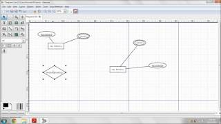 Entity-Relationship diagram using Dia