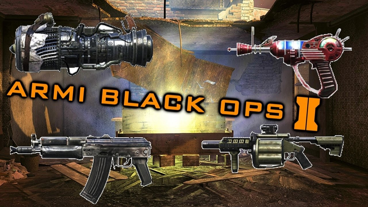 Black Ops 2: Lista Armi Zombies + RayGun + Wonder Weapon ... M1216 Black Ops 2