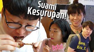 BANGKRUT AKU | Suami Istri Korea Pertama Kali Nyobain Makanan Indonesia!!