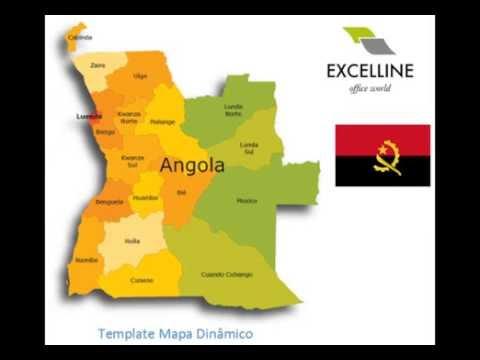 Excelline - Mapas Dinâmicos - Angola Flash