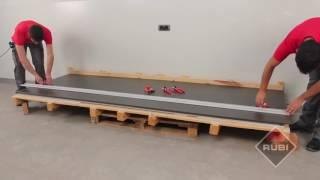 RUBI Slim system cutter   Como cortar ceramica de gran formato