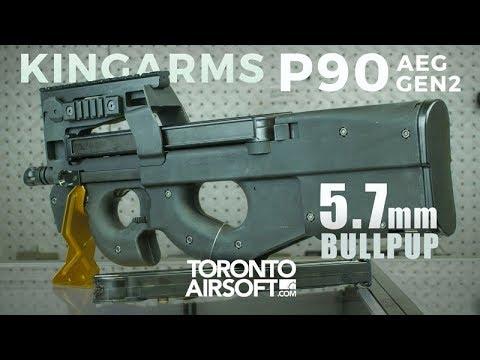 NEW! King Arms M3 P90 review - TorontoAirsoft.com