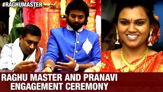 Choreographer Raghu Master and Singer Pranavi Acharya Engagement