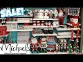 Michaels CHRISTMAS DECORATIONS * shop with me 2019
