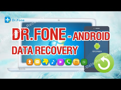 Dr Fone - Worlds 1st Android Data Recovery Tutorial