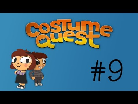 Butt Ninjas | Costume Quest part 9 | Claim to Game Let's Play |