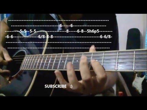 O O Jaane Jaana Guitar Intro Lesson