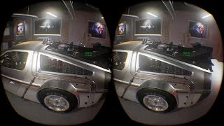 Back to the future - Delorean VR   (Oculus Rift & Touch)