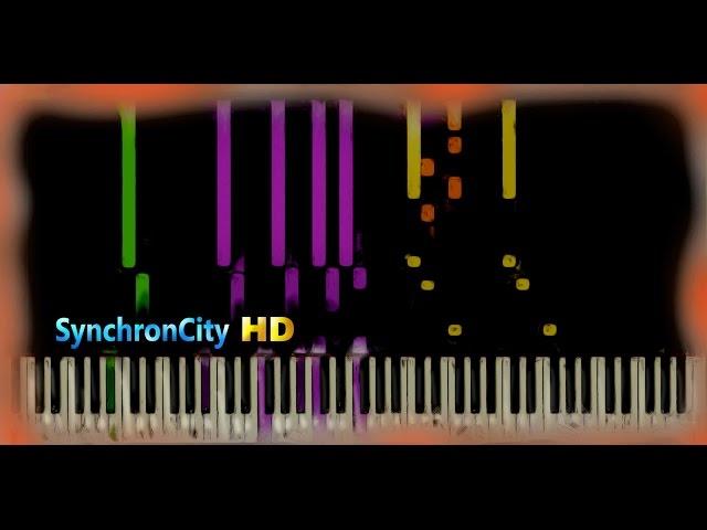 School of Velocity Etude Op. 299 No. 2 // Czerny [ Piano Lesson / Tutorial ] ( Synthesia )