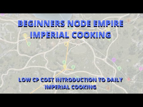 Black Desert Online PS4/Xbox One | Best Nodes For Imperial Cooking  | Low CP cost worker empire