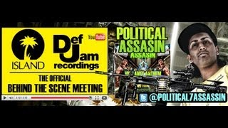 PHILLY ARTIST/PRODUCER POLITICAL ASSASIN WITH DEF JAM RECORDS