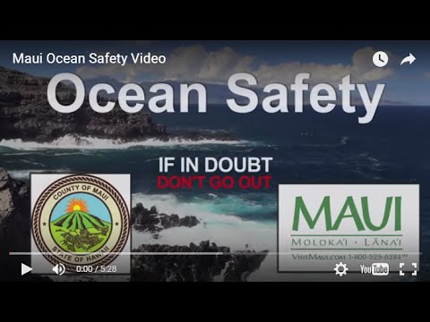 Maui Ocean Safety Video