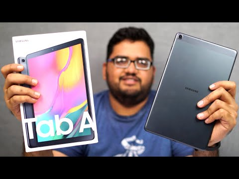 Samsung Tab A 10.1 2019 Unboxing, Benchmark Scores, Camera Shots, Price