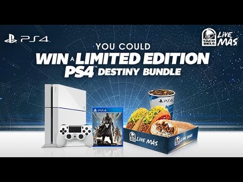 Taco Bell Giving Away Ice White PS4 Destiny Bundle!