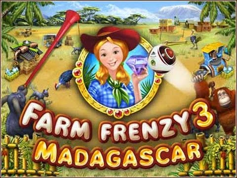 Farm Frenzy 3 - Madagascar - Farm Games iPhone/iPad GamePlay