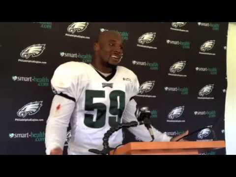 DeMeco Ryans on Eagles D getting turnovers