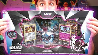 Opening NEW POKEMON Dawn Wings Necrozma Pokemon Cards Box!