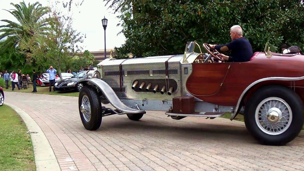 1928 Rolls Royce Custom 27 Liter Rolls Royce Engine Youtube