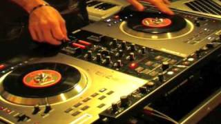 DJ CERLA ON THE NUMARK NS7: SCRATCH+FX