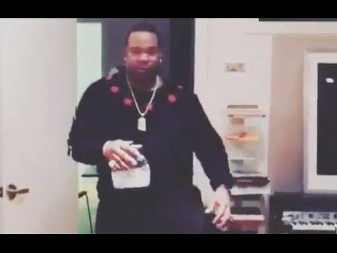 Busta Rhymes And Swizz Beatz Turning Up In Studio Working On New Album