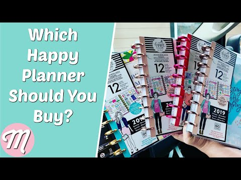 What Type Of Happy Planner Should You Buy For 2019?